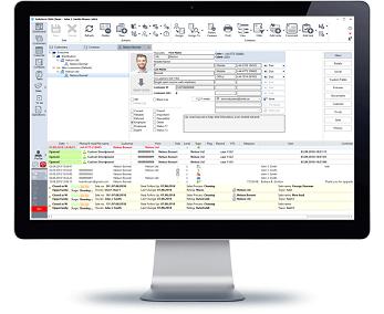 InfoServ CRM Customer Profile
